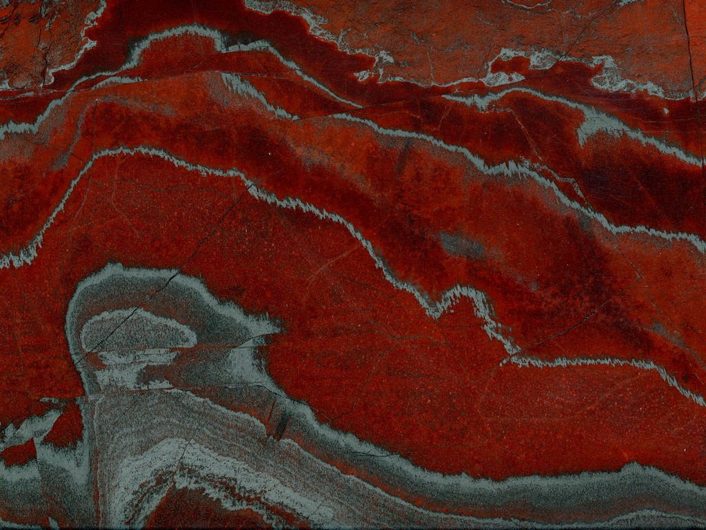 iron red quartzites